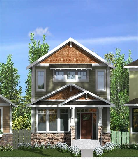 2 storey narrow lot home plans 2 story narrow lot