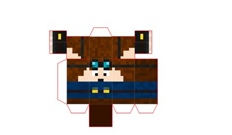 minecraft papercraft dantdm by galaxyartproduction2 on
