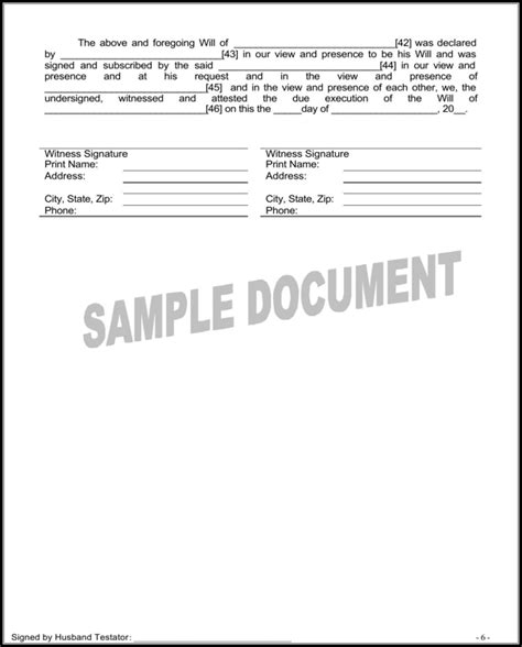 Download Maine Last Will And Testament Form For Free Page 12 Formtemplate Maine Will Template