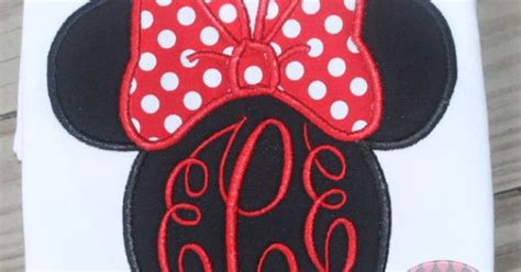 Blouse Cross Minnie traditional minnie mouse monogrammed shirt by stitchitboutique for later