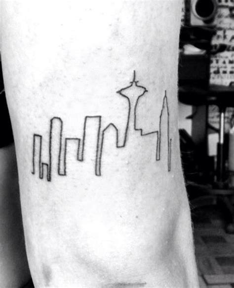 seattle skyline tattoo best 25 seattle skyline ideas on