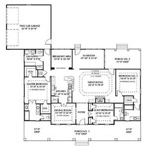 House Plans Two Master Suites One Story by House Plans With Two Master Suites 17 Best Images About