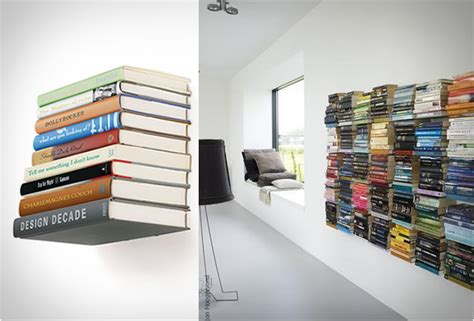 invisible book shelf feel desain