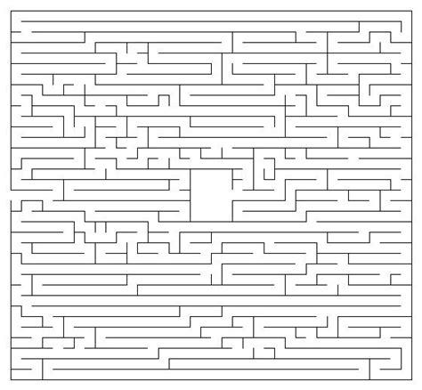 maze printable version free mazes