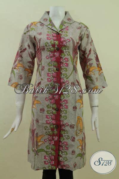 desain baju batik modern 2015 trend baju batik dress 2015 busana batik modern dengan