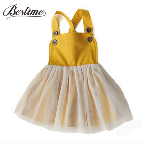 Yellow Shoulder Kid Ij 1 3y princess baby dress mustard yellow shoulder dresses for fashion clothes
