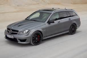 Mercedes C63 Amg Wagon 2014 Mercedes C63 Amg Edition 507 Wagon Front Three