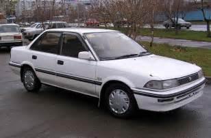 1991 Toyota Corrola 1991 Toyota Corolla Pictures 1500cc Gasoline Ff