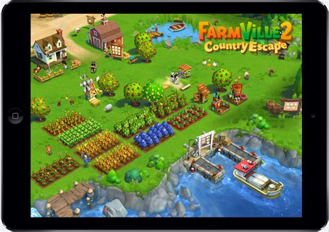 FarmVille 2 Country Escape_iPad (1) | Zynga Company Blog Zynga Games Farmville 2 Facebook