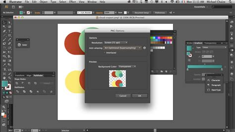 adobe illustrator cs6 how to make a logo how to make white background transparent in illustrator
