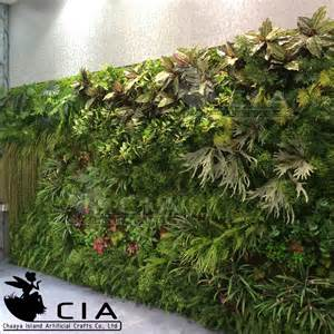 artificial plants outdoor green wall foliage wall decoration fern wall decore plastic plant