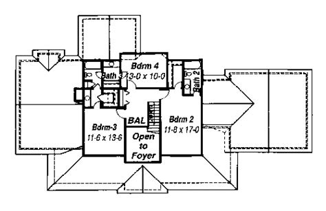garrison house plans garrison 5735 4 bedrooms and 3 baths the house designers