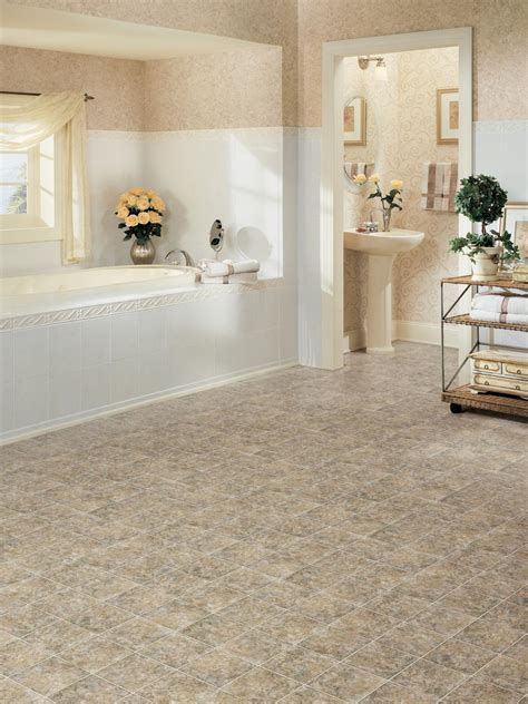 Low Cost Bathroom Designs by Vinyl Low Cost And Lovely Bathroom Design Choose Floor