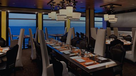 qsine cruise ship dining restaurants celebrity cruises
