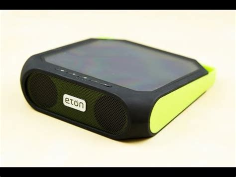 Rugged Rukus Review by Eton Rugged Rukus Solar Bluetooth Speaker Unboxing