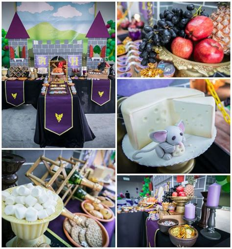 cupcake themed party games medieval knight themed birthday party with so many