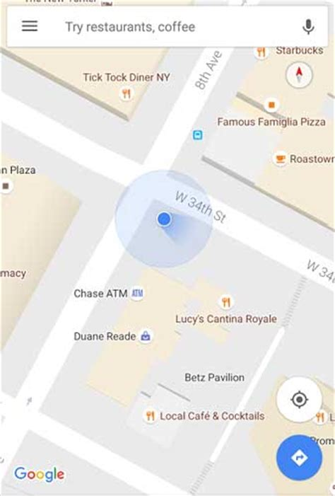 that blue dot in google maps now shows your direction google maps 藍點 加入方向標示 android apk