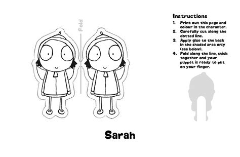 sarah and duck coloring pages coloring pages ideas