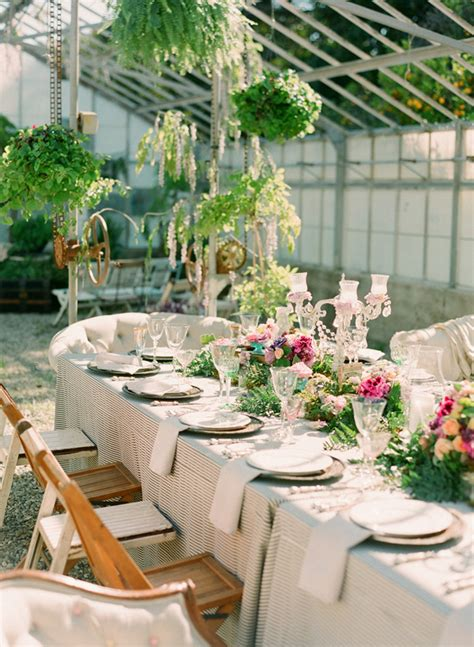Garden Wedding Ideas Pictures Garden Wedding Ideas Ruffled
