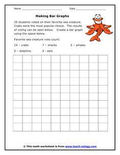 statistics  pinterest bar graphs worksheets  kids
