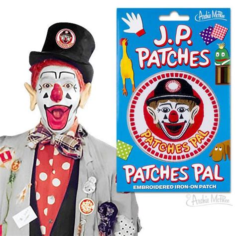 j p patches figure patches pal embroidered patch archie mcphee co