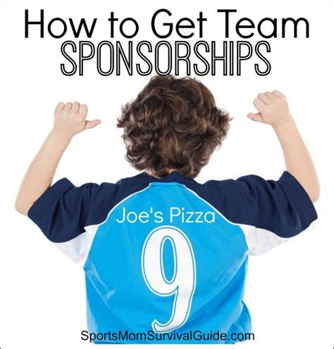 How To Get Team Sponsorships Fundraising And Fundraising