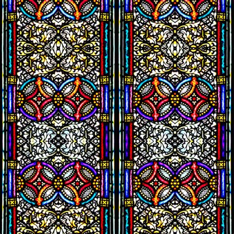 glass fabric stained glass fabric glennis spoonflower