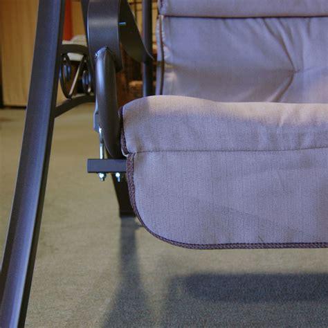 hampton bay charm patio swing  person replacement seat