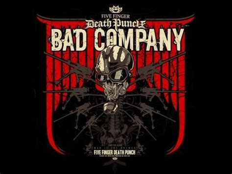 five finger death punch on youtube five finger death punch bad company youtube