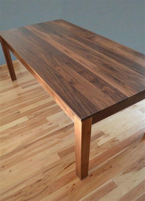walnut dining room table http www custommade solid walnut dining table by fabitecture dining table