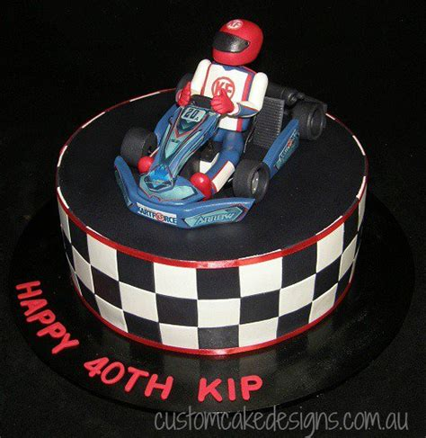 customcakedesigns   Go Kart Cake