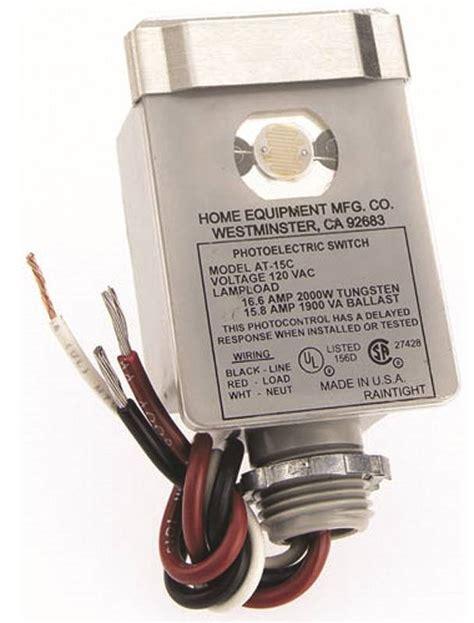 westek outdoor light control westek at15bc 4 dusk to dawn stem mount light control 2000 w