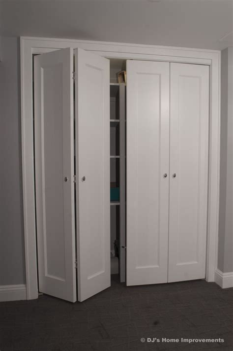 Storage Closet With Doors by Bi Fold Closet Doors