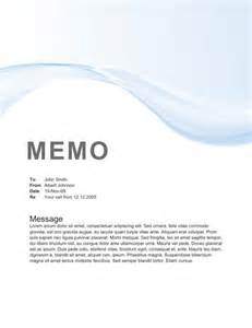 Blue waves memo letter example