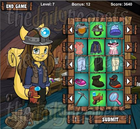 Neopets Wardrobe by And The Wardrobe Of Adventure The Daily Neopets