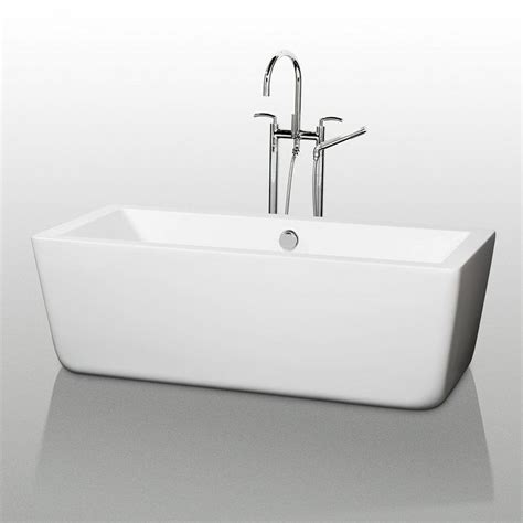 how many gallons does a bathtub hold wyndham collection wcobt100559 white laura 59 quot free