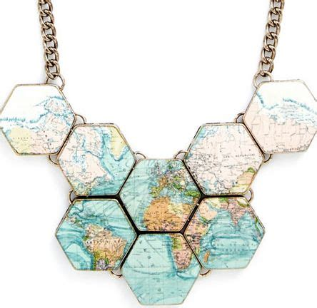 World Map Statement Necklace best 20 statement necklaces ideas on mint