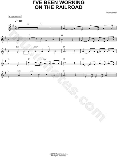 printable lyrics to i ve been working on the railroad american folk song quot i ve been working on the railroad c