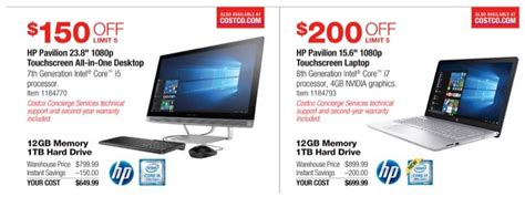 Desk Top Computer Sales Costco 2017 Black Friday Ads Leak With Deals On Laptops Desktops Tablets Zdnet