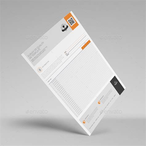 32 Printable Survey Templates Free Word Excel Pdf Exles Paper Survey Template Word