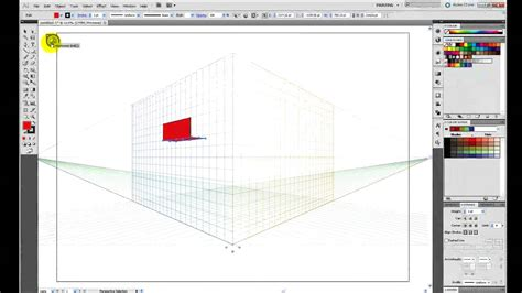 pattern illustrator tutorial cs5 tutorial adobe illustrator cs5 dibujo en perspectiva