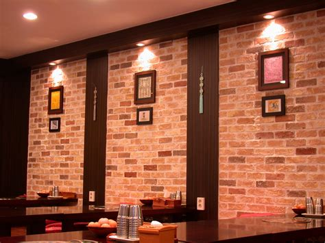 Brick Veneer Interior by Interior Brick Veneer Decorations Interior Sensational