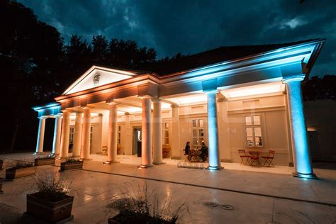 Outdoor Building Lights Exterior Building Lighting With Rgb Led Lights Ledco