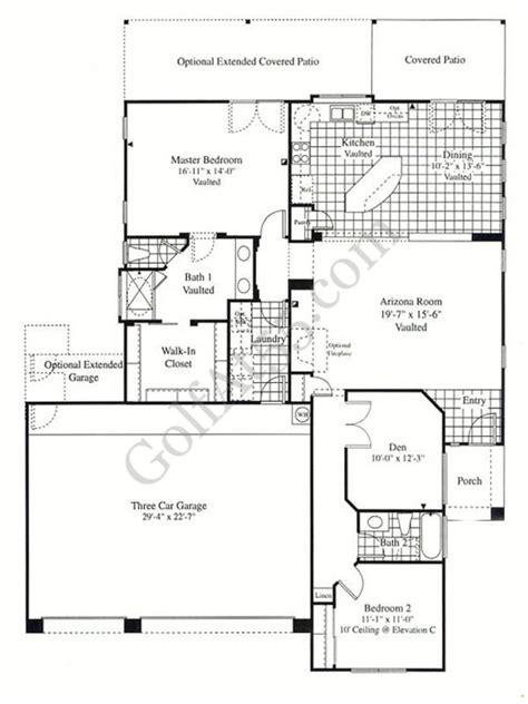 Continental Homes Floor Plans Arizona | continental homes floor plans arizona
