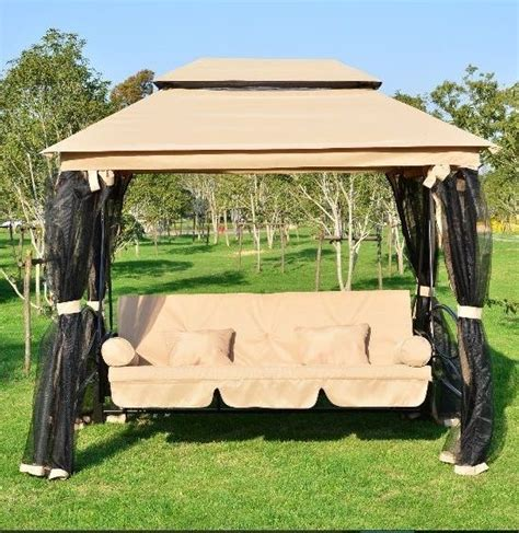 lawn swing with canopy 17 best ideas about patio swing with canopy on pinterest