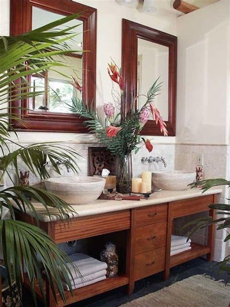 tropical bathroom mirrors 25 best ideas about tropical bathroom on pinterest