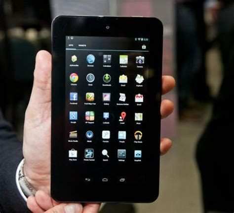hp unveils slate 7 android tablet during mwc 2013