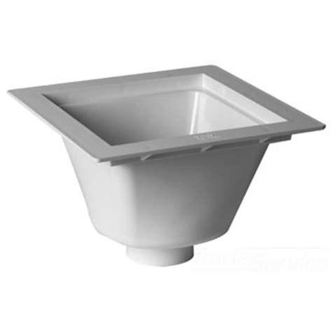42722 4 pvc floor sink oatey 42722 12 quot x12 quot pvc floor sink with 4 quot outlet
