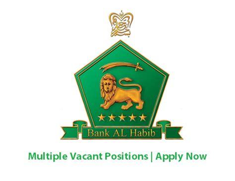 Bank Al Habib Letterhead bank al habib limited dec 2016