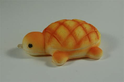 Squishy Melon Bread New mini turtle melon pan bun squishy kawaii bread bun